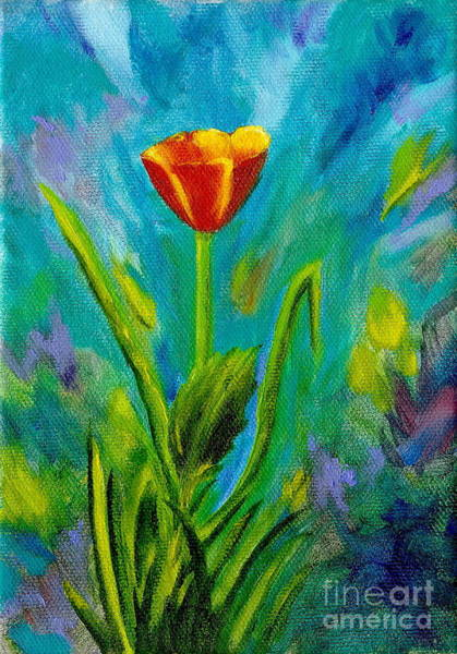 Painting - Poppy by Mary Scott