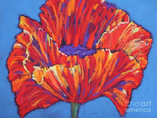Painting - Poppy by Melinda Etzold