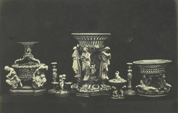 Wall Art - Drawing - Porcelain And Parian. Minton by Artokoloro