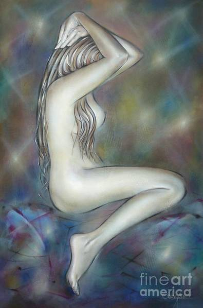 Painting - Porcelain Nude 080810 by Selena Boron