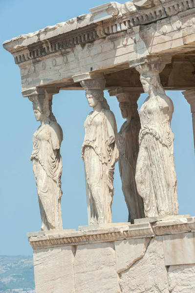 Jim Temple Photograph - Porch Of The Maidens, Erechtheion by Jim Engelbrecht