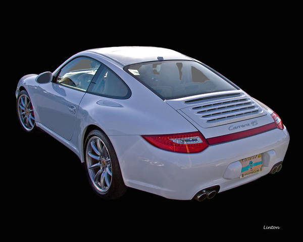 Photograph - Porche 2 by Larry Linton