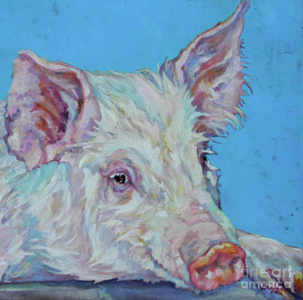 Painting - Pork Chop by Patricia A Griffin