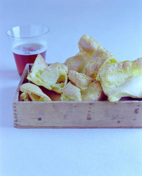 Meat Photograph - Pork Rinds With A Pint by Romulo Yanes