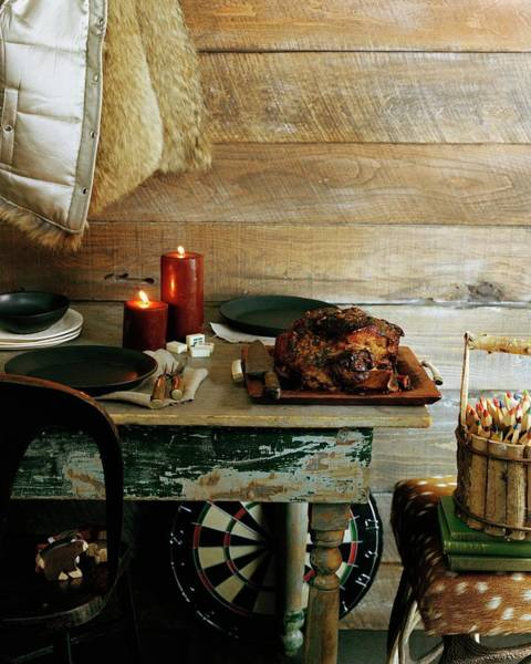 2007 Photograph - Pork With Candles by Romulo Yanes