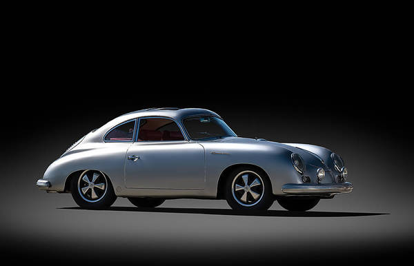 Wall Art - Digital Art - Porsche 356 Outlaw by Douglas Pittman