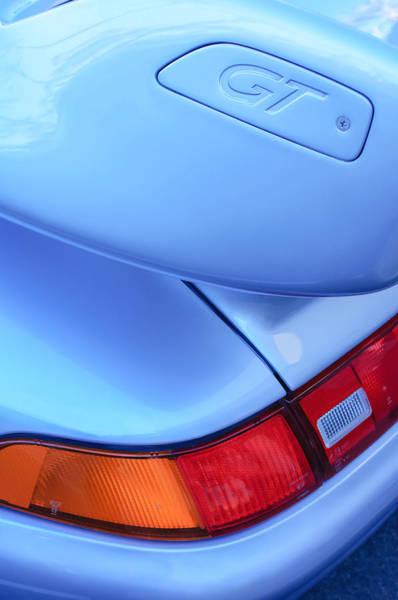 Photograph - Porsche 911 Gt Emblem - Taillight by Jill Reger