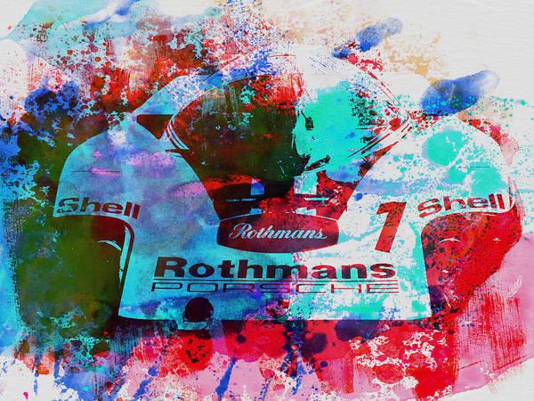 Wall Art - Painting - Porsche 917 Rothmans 2 by Naxart Studio