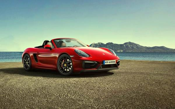 Photograph - Porsche Boxster G T S by Movie Poster Prints