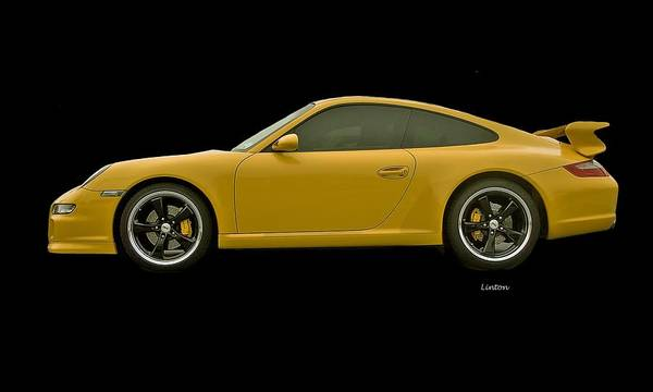 Photograph - Porsche Carrera by Larry Linton