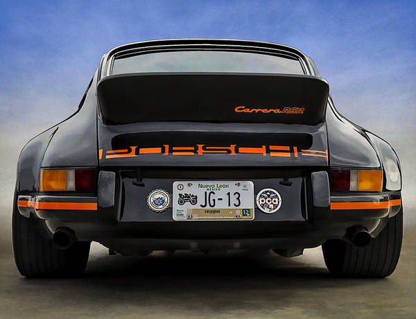 Wall Art - Digital Art - Porsche Carrera Rsr by Douglas Pittman