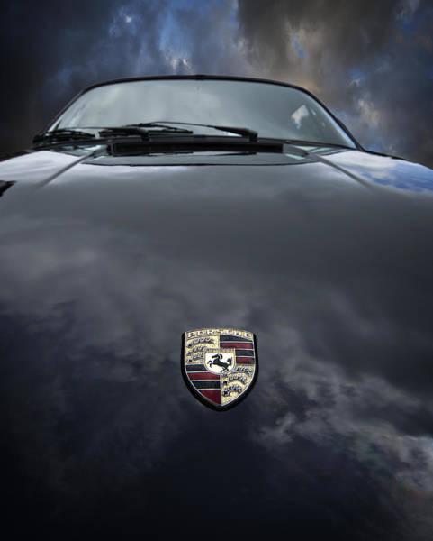 Photograph - Porsche Drama by Meirion Matthias