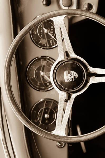 Custom Photograph - Porsche Sepia Iphone 4 by Jill Reger