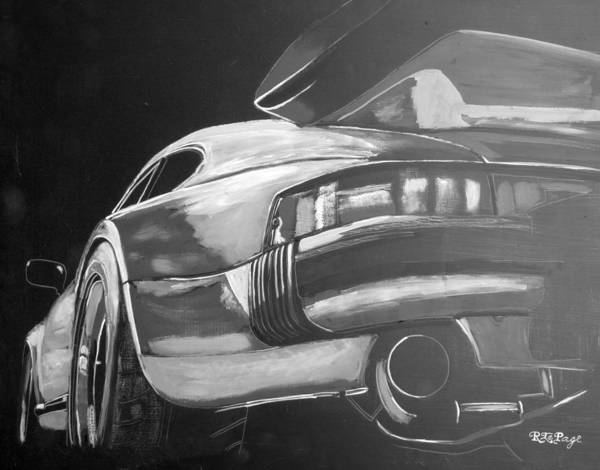 Painting - Porsche Turbo by Richard Le Page