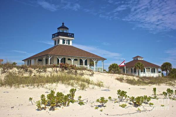 Photograph - Port Boca Grande Lighthouse by Amazing Jules