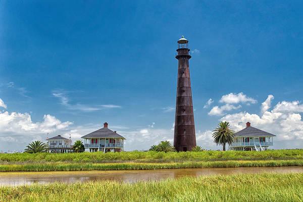 Port Bolivar Lighthouse Art Print