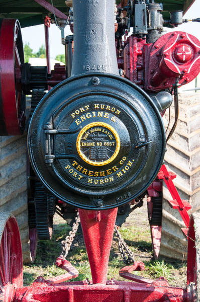 Photograph - Port Huron Tractor by Guy Whiteley