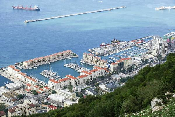 Psi Photograph - Port Of Gibraltar by Photostock-israel