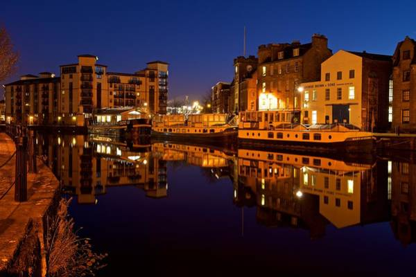 Photograph - Port Of Leith by Stephen Taylor