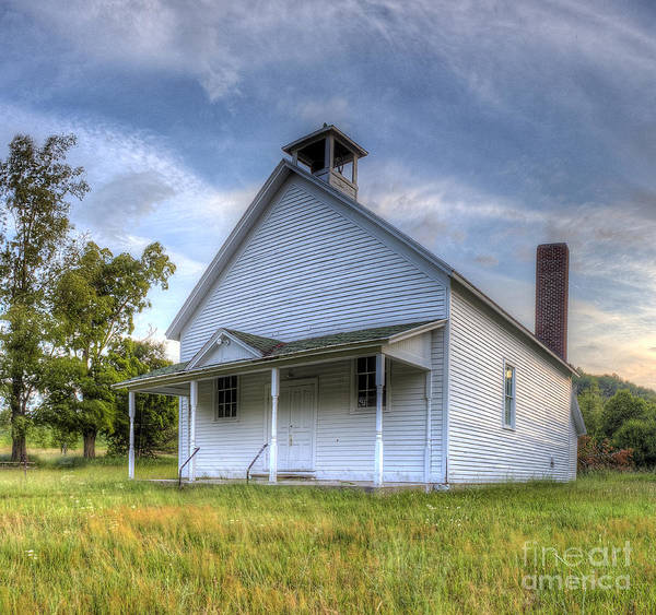 Schoolhouse Photograph - Port Oneida Schoolhouse by Twenty Two North Photography