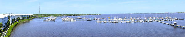 Photograph - Port St Lucie Marina by Richard Henne