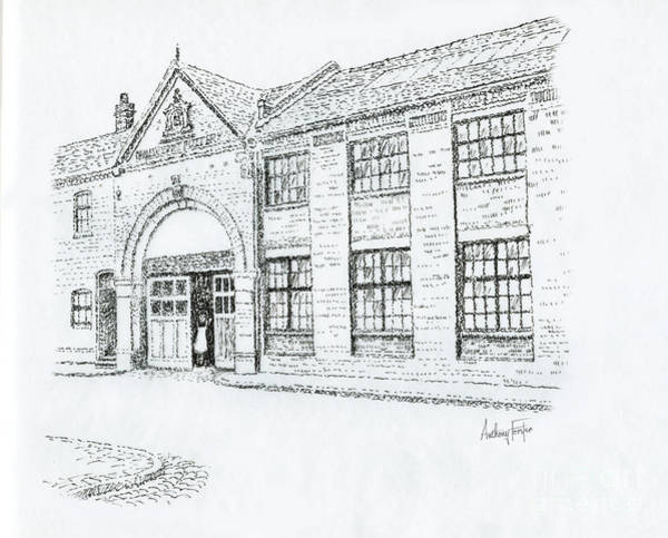 Wall Art - Drawing - Port Street Middleport by Anthony Forster