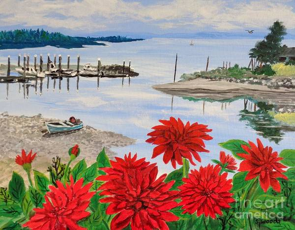 Port Townsend Painting - Port Townsend Seaside by Sharon  Woods