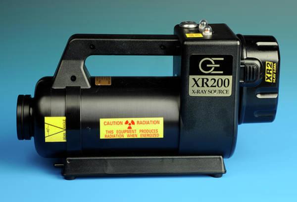 Short Cut Photograph - Portable X-ray Machine by Public Health England