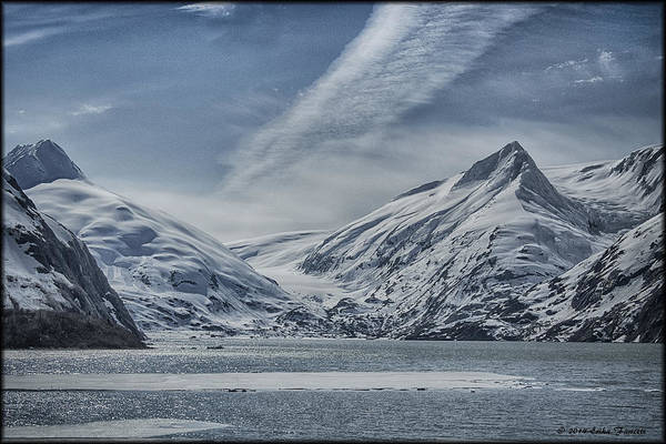 Photograph - Portage Lake Clouds by Erika Fawcett