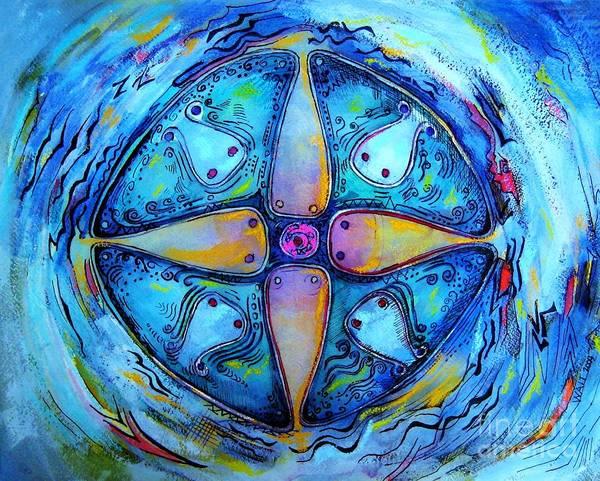 Painting - Portal II by Nancy Wait
