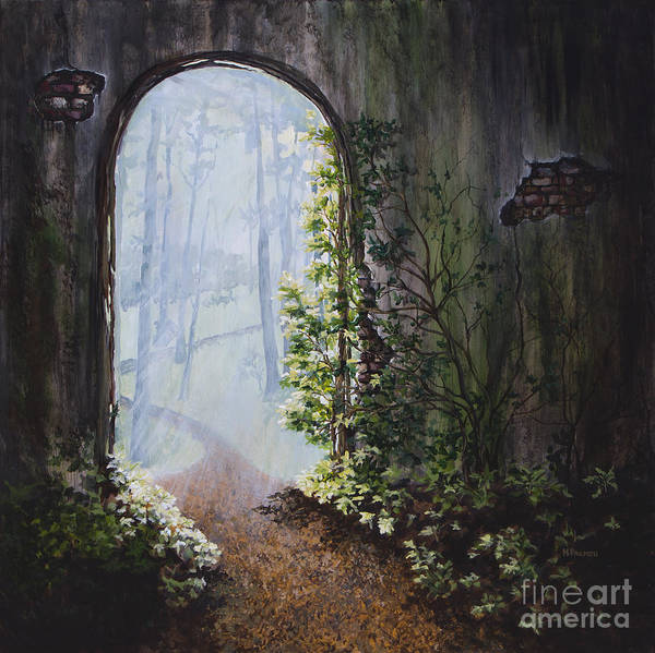 Painting - Portal by Mary Palmer