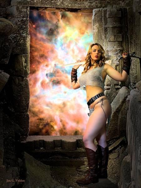 Photograph - Portal Of Magic by Jon Volden