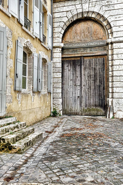 Entry Photograph - Porte Cochere by Olivier Le Queinec