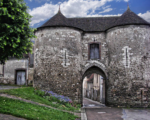 Village Gate Photograph - Porte Saint-jean by Nikolyn McDonald