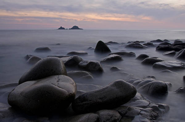 Photograph - Porth Nanven In Cornwall by Pete Hemington