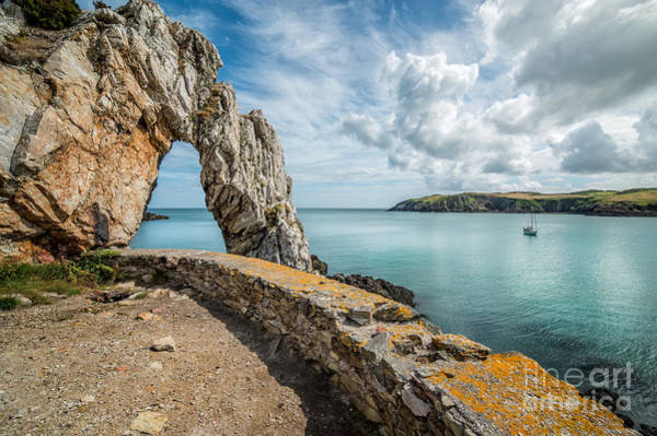 Wall Art - Photograph - Porth Wen Arch by Adrian Evans