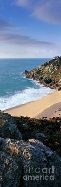 Treen Photograph - Porthcurno by Rod McLean