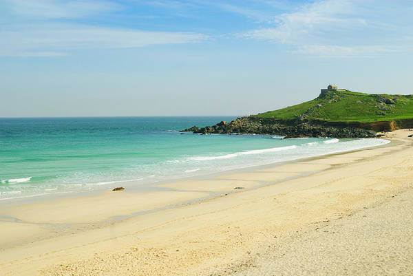 Ives Photograph - Porthmeor Beach At St. Ives, Cornwall by John Harper