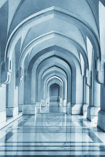 Arch Wall Art - Photograph - Portico by Hans-wolfgang Hawerkamp