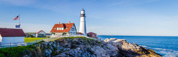 Portland Head Light House Cape Elizabeth Maine Art Print