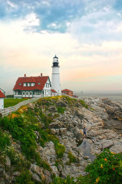 Wall Art - Photograph - Portland Head Light by Richard Trahan
