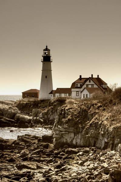 Photograph - Portland Head Lighthouse by Joann Vitali