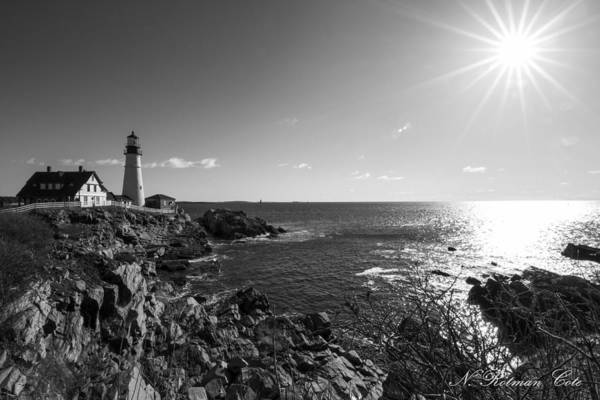 Photograph - Portland Head Lighthouse by Natalie Rotman Cote