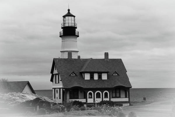 Photograph - Portland Headlight 14221 by Guy Whiteley