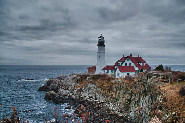 Photograph - Portland Headlight 14440 by Guy Whiteley