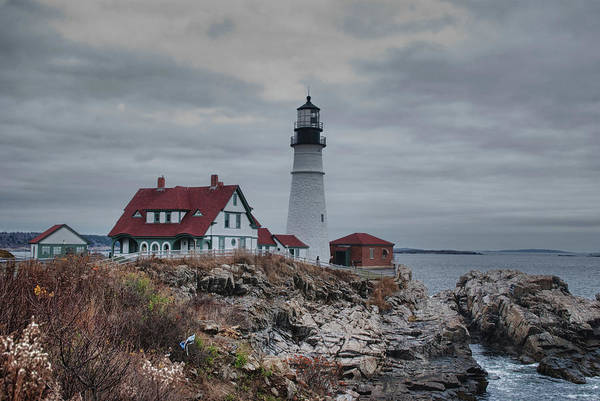 Photograph - Portland Headlight 14456 by Guy Whiteley
