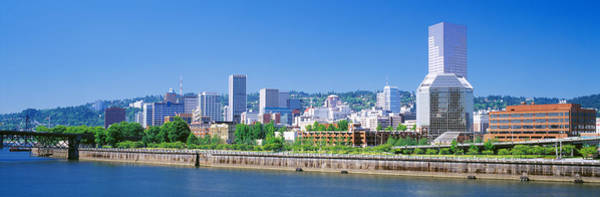 Willamette Photograph - Portland Oregon Usa by Panoramic Images
