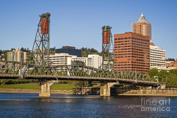Photograph - Portland Skyline by Bryan Mullennix
