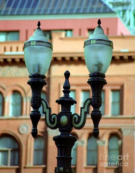 Photograph - Portland Street Lamp by James B Toy