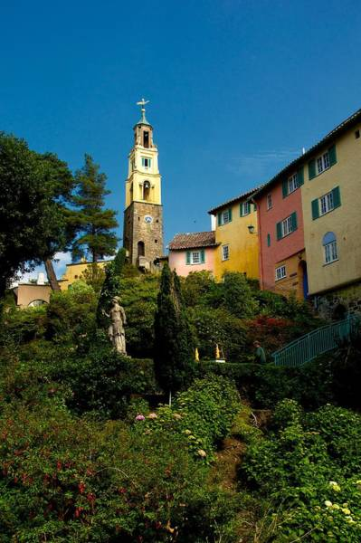 Photograph - Portmerion by Stephen Taylor